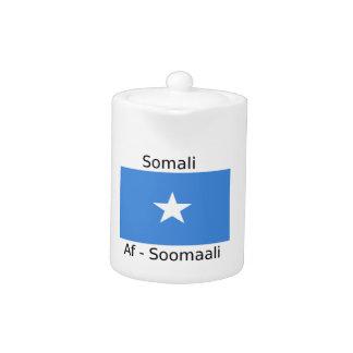 Somali Language And Somalia Flag Design