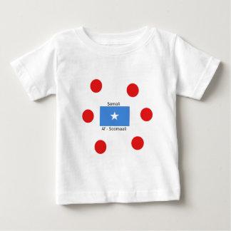 Somali Language And Somalia Flag Design Baby T-Shirt
