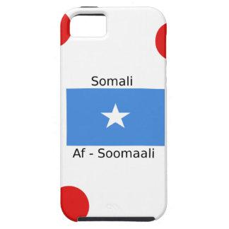 Somali Language And Somalia Flag Design Case For The iPhone 5