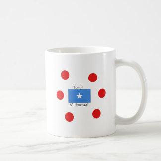 Somali Language And Somalia Flag Design Coffee Mug