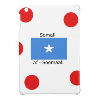 Somali Language And Somalia Flag Design iPad Mini Case