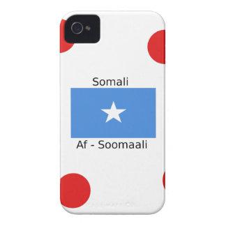 Somali Language And Somalia Flag Design iPhone 4 Case