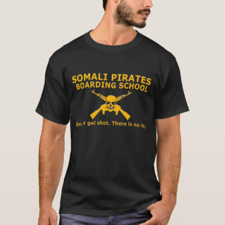 Somali Pirates Boarding School Black Shirt