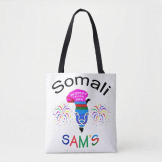 """Somali Sam, Dessert Truck Man"" Custom Print Tote"