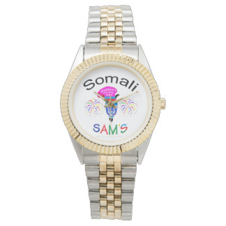Somali Sam's Custom Two-Toned Watch