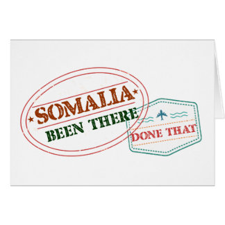 Somalia Been There Done That Card