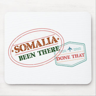Somalia Been There Done That Mouse Pad