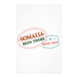 Somalia Been There Done That Stationery