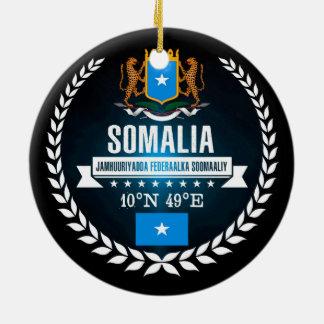 Somalia Ceramic Ornament