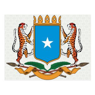 Somalia Coat of Arms detail Postcard