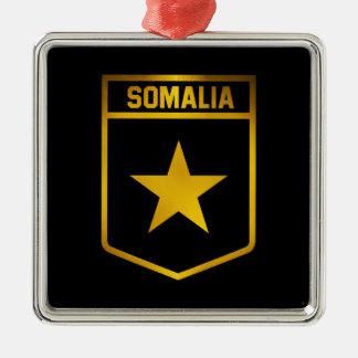 Somalia Emblem Metal Ornament
