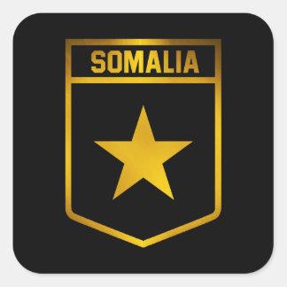 Somalia Emblem Square Sticker