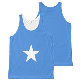 Somalia Flag All-Over Print Singlet