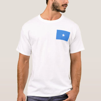 Somalia Flag and Map T-Shirt