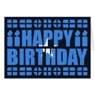 Somalia Flag Birthday Card