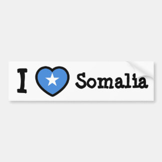 Somalia Flag Bumper Sticker