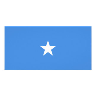 Somalia Flag Card