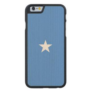 Somalia Flag Carved Maple iPhone 6 Case