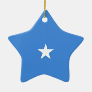 Somalia Flag Ceramic Ornament