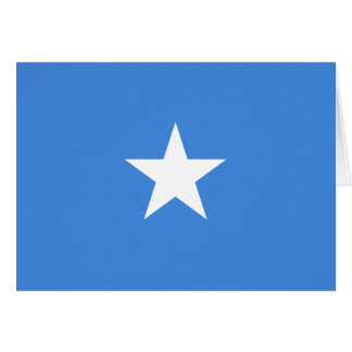 Somalia Flag Note Card