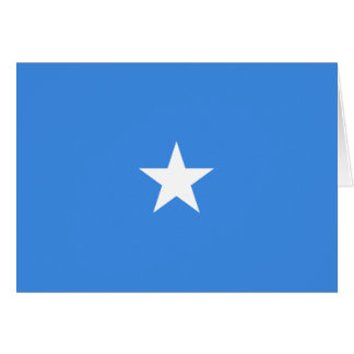 Somalia Flag Notecard Greeting Cards