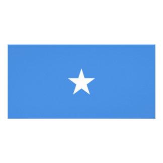 Somalia Flag Photo Card Template
