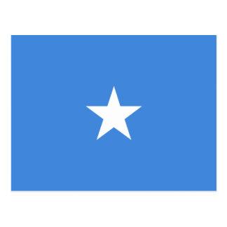 Somalia Flag Postcard