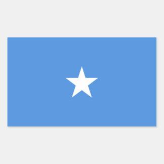 Somalia Flag Rectangular Sticker