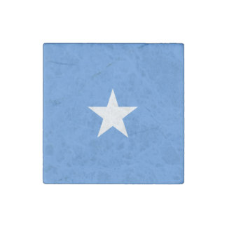 Somalia Flag Stone Magnet