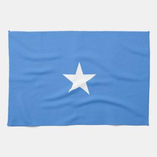 Somalia Flag Tea Towel