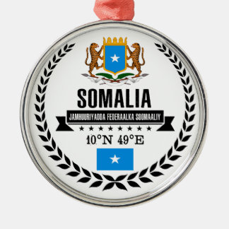 Somalia Metal Ornament