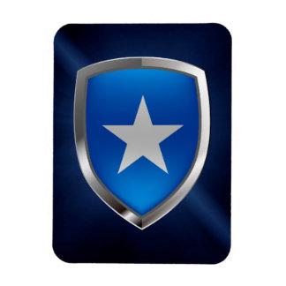 Somalia Metallic Emblem Magnet