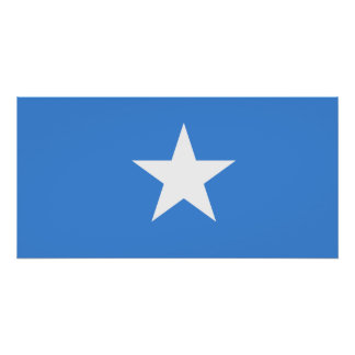 Somalia National World Flag Poster