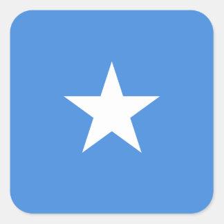 Somalia National World Flag Square Sticker