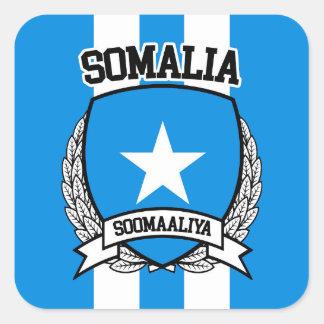 Somalia Square Sticker