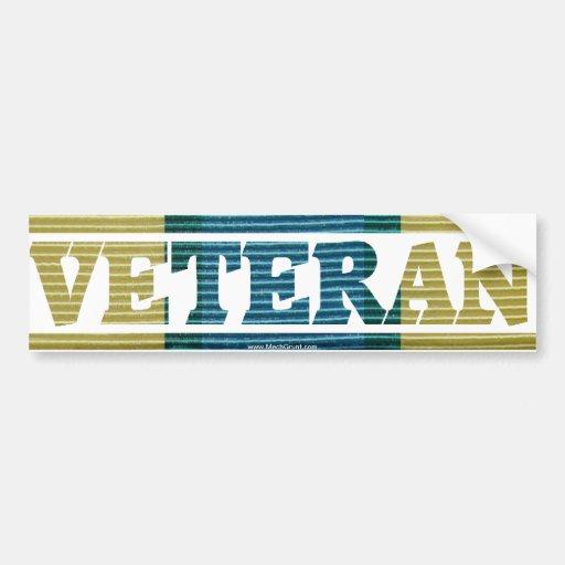 Somalia Veteran  Campaign Ribbon Sticker Bumper Stickers