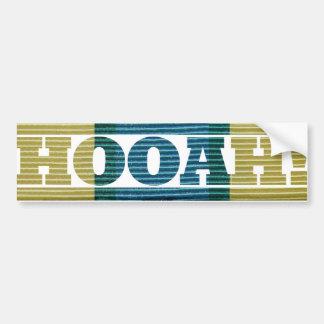 Somalia Veteran HOOAH Sticker Bumper Sticker