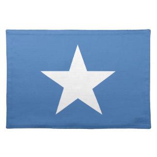 Somalian flag place mat