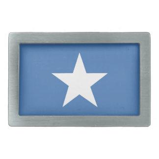Somalian flag rectangular belt buckle
