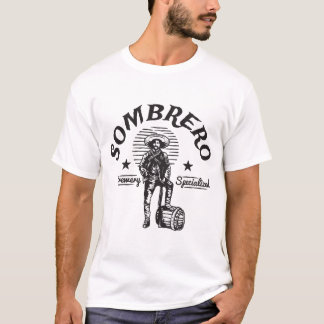 Sombrero Design T-shirt