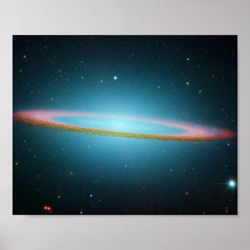 Sombrero Galaxy - M104 - poster/print