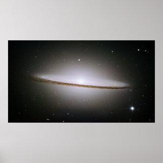 Sombrero Galaxy, M 104, NGC 4594, IRAS 12373-1121 Poster