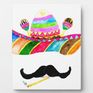 Sombrero Hat Watercolor Plaque