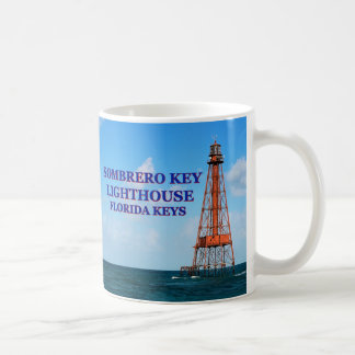 Sombrero Key Lighthouse, Florida Keys Mug
