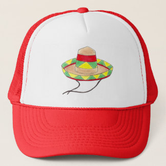 Sombrero Mexican Fiesta Hat Cinco de Mayo Red