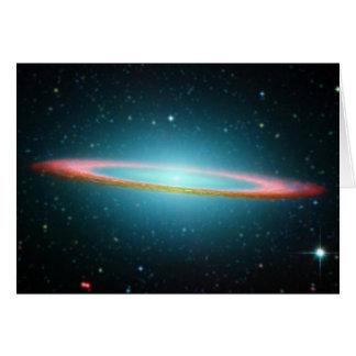 Sombrero spiral galaxy NGC 4594 Card
