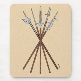 Some 16th Century Polearms Mousepad