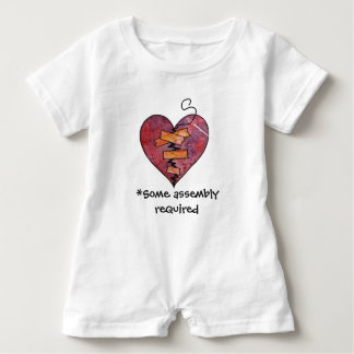 Some Assembly Required for a Mended Heart Baby Bodysuit