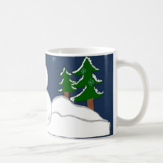 Some Assembly Required Snowman Coffee Mug