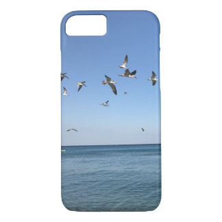 some awesome birds at the beach iPhone 8/7 case